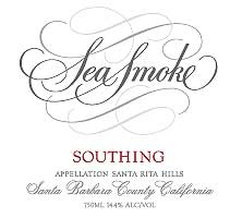 Sea Smoke Cellars Southing Pinot Noir 2002 Front Label