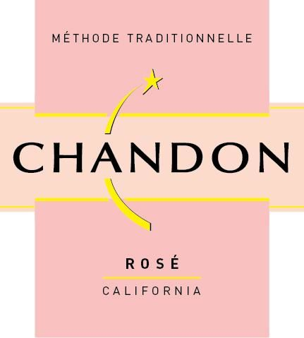 Chandon Rose 2015 Front Label