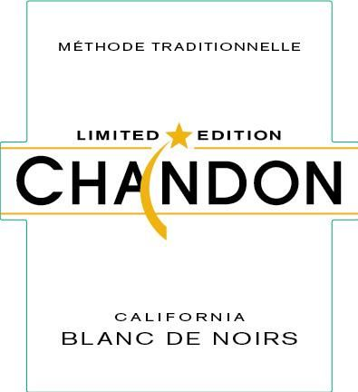 Chandon Limited Edition Blanc de Noirs 2015 Front Label