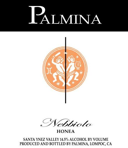 Palmina Honea Vineyard Nebbiolo 2006 Front Label