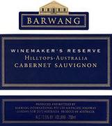 Barwang Winemakers Reserve Cabernet Sauvignon 1997 Front Label