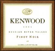 Kenwood Russian River Pinot Noir 2002 Front Label