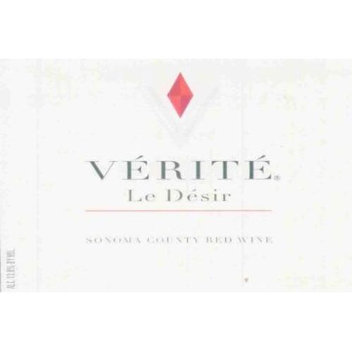 Verite Le Desir (stained label) 2001 Front Label