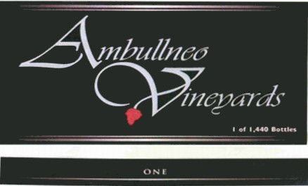 Ambullneo Vineyards One Pinot Noir 2006 Front Label