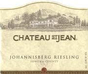 Chateau St. Jean Johannisberg Riesling 1997 Front Label