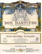 Quinta do Carmo Dom Martinho 2001 Front Label