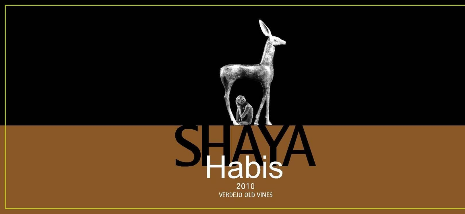 Shaya Habis Old Vines Verdejo 2010 Front Label