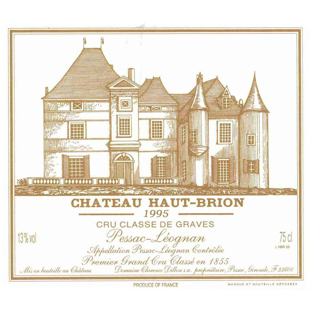 Chateau Haut-Brion  1995 Front Label
