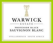 Warwick Estate Professor Black Sauvignon Blanc 2004 Front Label