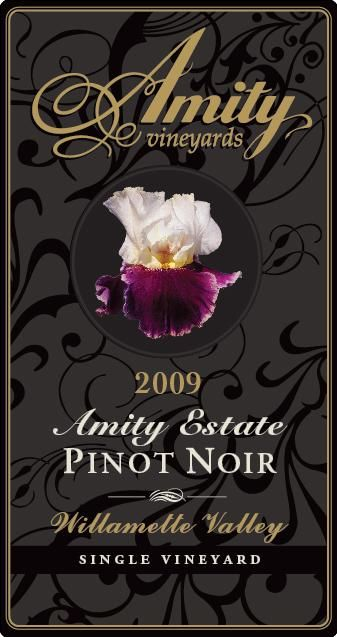 Amity Amity Estate Pinot Noir 2009 Front Label