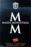 Marques de Monistrol Marques de Monistrol Masia 2000 Front Label