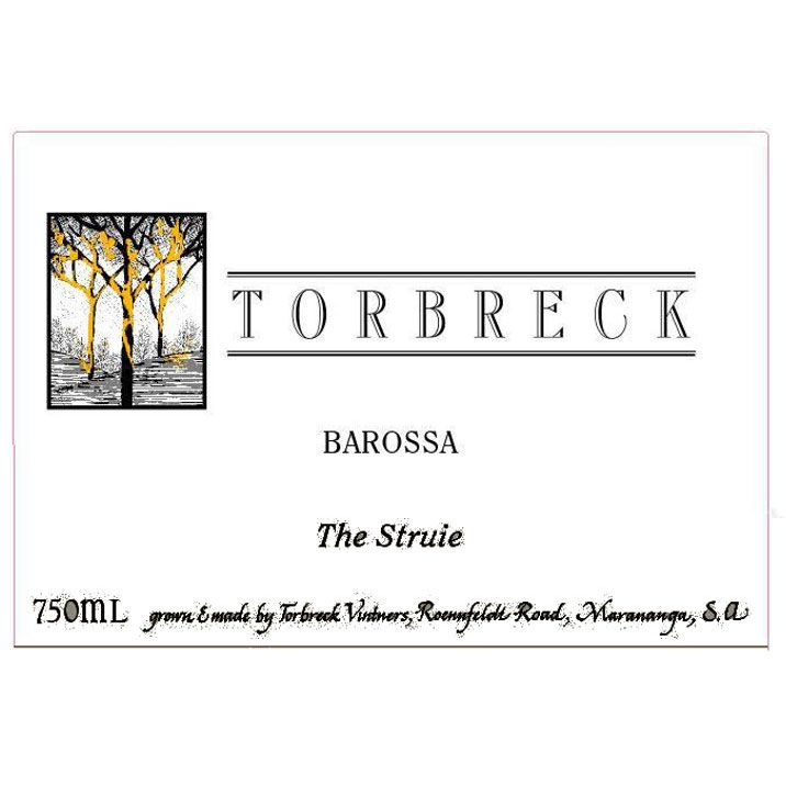 Torbreck The Struie 2002 Front Label