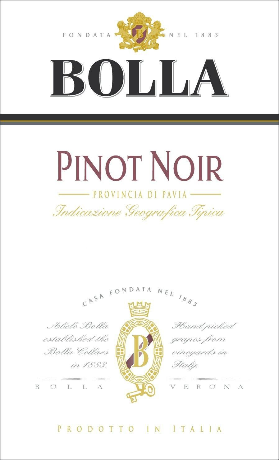Bolla Pinot Noir 2010 Front Label