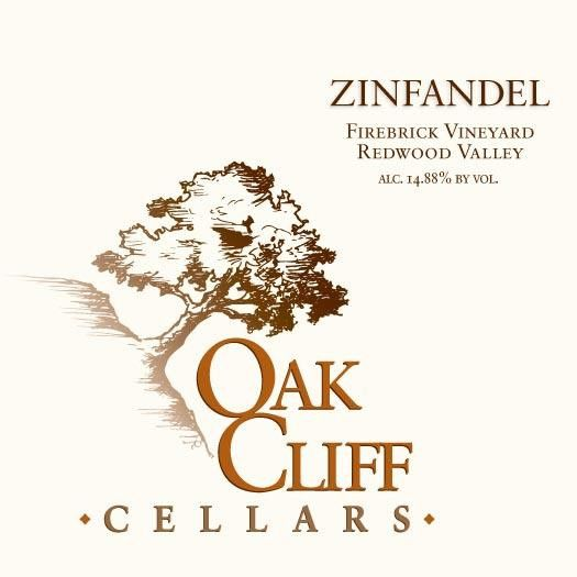 Oak Cliff Cellars Firebrick Hill Zinfandel 2010  Front Label
