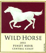 Wild Horse Pinot Noir 2002 Front Label
