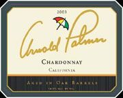 Arnold Palmer Chardonnay 2003 Front Label