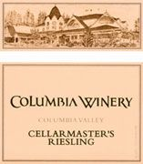Columbia Winery Cellarmaster's Riesling 2004 Front Label