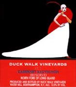 Duck Walk Cabernet Sauvignon 2001 Front Label