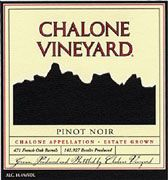 Chalone Estate Pinot Noir 2003 Front Label