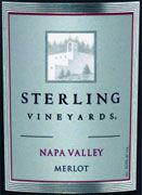 Sterling Napa Merlot 2003 Front Label