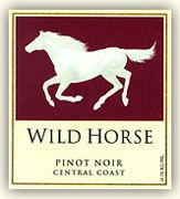 Wild Horse Pinot Noir 2003 Front Label