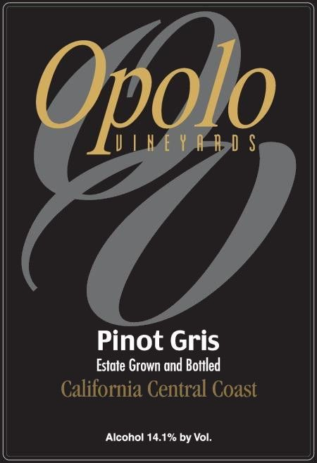 Opolo Pinot Gris 2016 Front Label