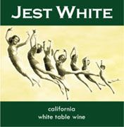 Jest Red Cellars Jest White Front Label