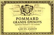 Louis Jadot Pommard Grands Epenot 1996 Front Label