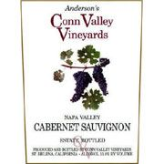 Anderson's Conn Valley Vineyards Cabernet Sauvignon Estate Reserve 2002 Front Label