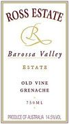 Ross Estate Grenache 2002 Front Label