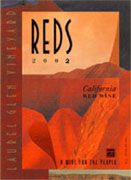 Laurel Glen REDS 2003 Front Label
