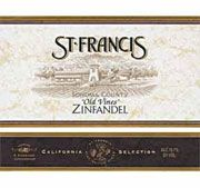 St. Francis Old Vines Zinfandel 2002 Front Label