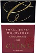Cline Small Berry Mourvedre 2003 Front Label