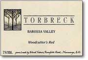 Torbreck Woodcutters Shiraz 2004 Front Label