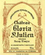 Chateau Gloria  2001 Front Label
