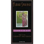 Flora Springs Rutherford Hillside Reserve Cabernet Sauvignon 2002 Front Label