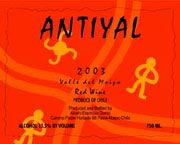 Antiyal  2003 Front Label