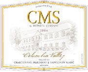 Hedges Family Estate CMS White 2004 Front Label