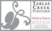 Tablas Creek Cotes de Tablas Rouge 2003 Front Label