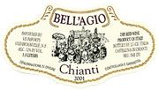 Banfi Estate Bottled Flask Chianti 2004 Front Label