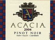 Acacia Pinot Noir (half-bottle) 2004 Front Label