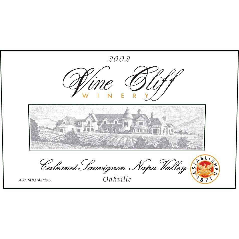 Vine Cliff Oakville Estate Cabernet Sauvignon 2002 Front Label