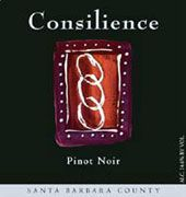 Consilience Pinot Noir 2002 Front Label