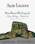 Alois Lageder Pinot Bianco 2004 Front Label