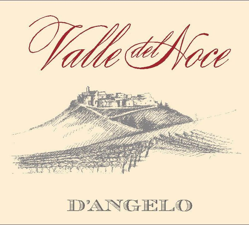D'Angelo Aglianico del Vulture Valle del Noce 2009 Front Label
