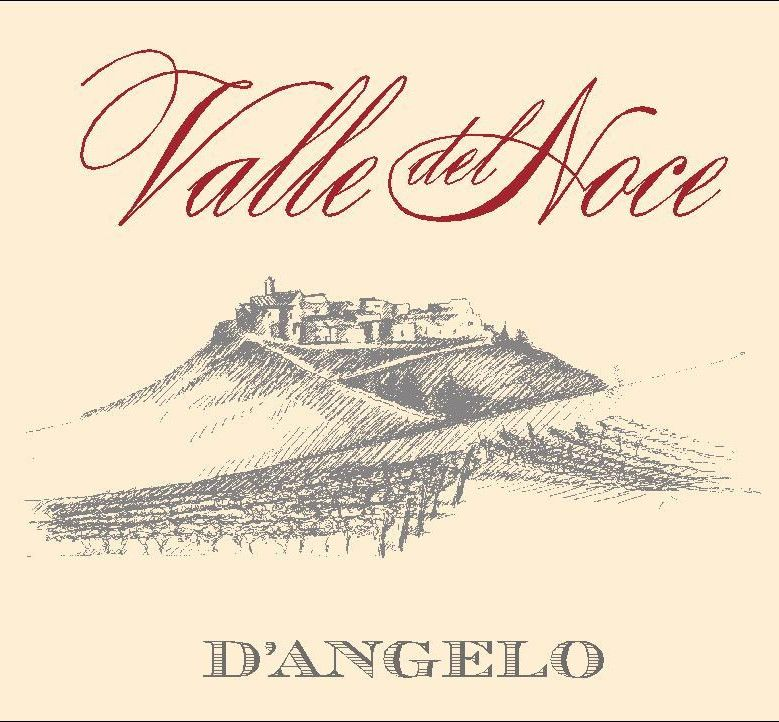 D'Angelo Aglianico del Vulture Valle del Noce 2005 Front Label