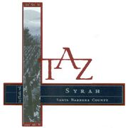 TAZ Santa Barbara County Syrah 2002 Front Label