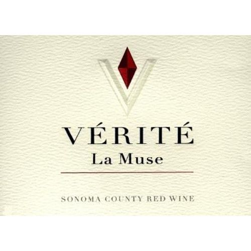 Verite La Muse 2002 Front Label