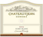 Chateau St. Jean Fume Blanc 2004 Front Label
