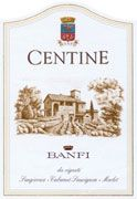 Banfi Centine Toscana 2004 Front Label